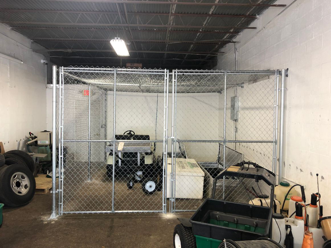 dallas chain link fence installation
